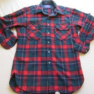 Pendleton Plaid Authentic Kilgore Tartan Button Up